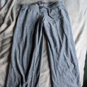Juicy couture velour grey sweatpants
